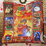 African American Christmas GS-CL-NT2810 Quilt Balnket