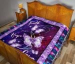Alzheimer's Butterfly Color Quilt DHC281111261DD