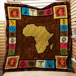 African Culture CL22100019MDQ Quilt Blanket