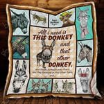All I Need Is Donkey Quilt Dl492 Dhc11122189Dd