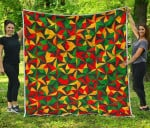 Abstract Reggae CL17100014MDQ Quilt Blanket