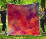 Abstract Nebula Cloud Galaxy Space CL17100010MDQ Quilt Blanket #74658