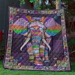 All Good Thing Are Wild And Free CLD180672 Quilt Blanket