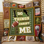 American Football Quilt Blanket DHC0502845TD