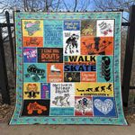 All The Feels On Eight Wheels CLD170672 Quilt Blanket