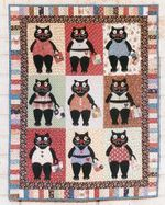 Alley Cat Tales CL16100201MDQ Quilt Blanket