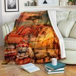 African Culture CL11120011MDF Sherpa Fleece Blanket
