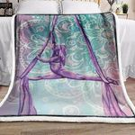 Aerial Dance BL071003F Sherpa Fleece Blanket #48441