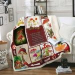 Advice From A Mushroom Fleece Blanket DHC14112075VT