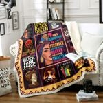 A December Woman Stronger Braver Smarter HT2712001TT Sherpa Fleece Blanket
