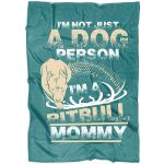 A Dog Person CLM2312012S Sherpa Fleece Blanket