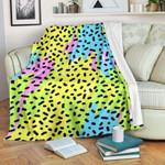 90s Pattern CLA15100055F Sherpa Fleece Blanket