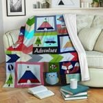 Adventure CLM2312031S Sherpa Fleece Blanket