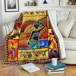 African Culture CL11120042MDF Sherpa Fleece Blanket