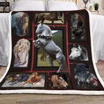 3d Huge Horse HB1101460S Sherpa Fleece Blanket