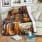 African Culture CL11120035MDF Sherpa Fleece Blanket