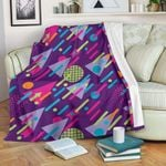 90s Pattern CLA15100057F Sherpa Fleece Blanket
