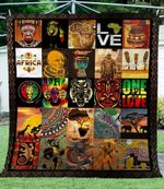 African Culture CL04120002MDF Sherpa Fleece Blanket