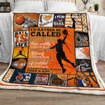 A Basketball Player Than A Girl CL180901MDF Sherpa Fleece Blanket #21516