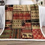 Africa CL19100005MDF Sherpa Fleece Blanket