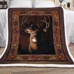 A Deer GS-CL-KC1307 Sherpa Fleece Blanket