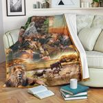 African Culture CL11120024MDF Sherpa Fleece Blanket
