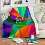 Abstract Bulldog CLP0312001TT Sherpa Fleece Blanket