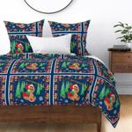 Yorkie Christmas CLH2312370B Bedding Sets