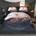 Yin and Yang Wolves Black Wolf CLA22101277B Bedding Sets #21522