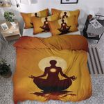 Yoga CG270873T Cotton Bed Sheets Spread Comforter Duvet Cover Bedding Sets #69120