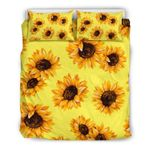 Yellow Sunflower Pattern CLH2911255B Bedding Sets