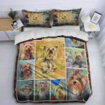 Yorkshire Terrier Dog DTC1212901 Bedding Set