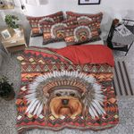 Yorkie Native NN280836T Cotton Bed Sheets Spread Comforter Duvet Cover Bedding Sets