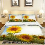 Yellow Sunflower CLA0310669B Bedding Sets #53126