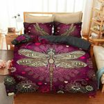 Yy0506 Dragonfly Back To December Bedding Set Christmas Gift Dhc13121263Dd
