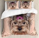 Yorkie CLA290853B Cotton Bed Sheets Spread Comforter Duvet Cover Bedding Sets