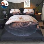 Yin Yang Wolf CLM2110658B Bedding Sets #70359