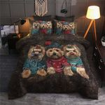Yorkie TN060971T Cotton Bed Sheets Spread Comforter Duvet Cover Bedding Sets