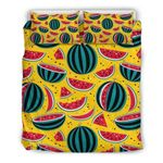 Yellow Watermelon Pieces CL16100895MDB Bedding Sets #40337