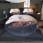 Yin And Yang Wolves CLH1410440B Bedding Sets