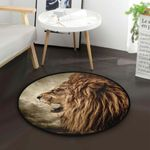 Angry Lion CLG1110016C Round Carpet