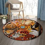 Animal NT270801RR Round Carpet