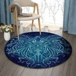 Animal Witch Sigil HN210901RR Round Carpet #44686