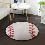 Baseball CLA200802 Round Carpet #60972