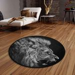 Angry Lion CLG1110015C Round Carpet #77997