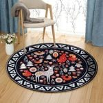 Animal TT310702T Round Carpet #84443