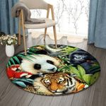 Animal NT0810004RR Round Carpet #16046