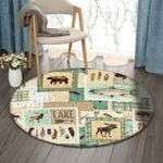 Animals DN0810007RR Round Carpet #39418