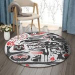 Animals VD0310003RR Round Carpet #55660
