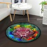 Angry Wolf CLG1110023C Round Carpet